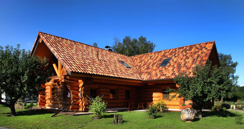 Holzhaus Aussenansicht gross